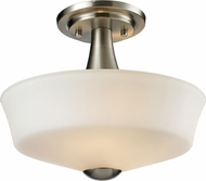 Z-Lite 410SF2 Montego Brushed Nickel 12  Wide Home Ceiling Lighting
