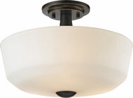 Z-Lite 411SF3 Montego Coppery Bronze 14.625  Wide Ceiling Light Fixture