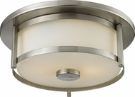 Z-Lite 412F11 Savannah Brushed Nickel 11  Wide Ceiling Lighting Fixture