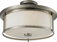 Z-Lite 412SF16 Savannah Brushed Nickel 10.875  Tall Overhead Lighting