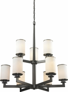 Z-Lite 413-9 Savannah Olde Bronze 29  Wide Chandelier Lighting