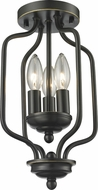 Z-Lite 414-14 Cardinal Olde Bronze 8  Wide Overhead Lighting Fixture