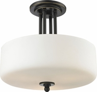 Z-Lite 414SF Cardinal Olde Bronze 12  Tall Ceiling Light Fixture