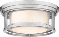 Z-Lite 426F12-BN Willow Modern Brushed Nickel 12  Flush Lighting