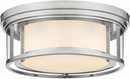 Z-Lite 426F16-BN Willow Modern Brushed Nickel 16  Overhead Lighting