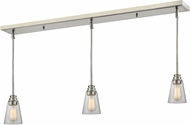 Z-Lite 428MP-3BN Annora Brushed Nickel Clear Multi Hanging Light