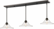 Z-Lite 428MP14-3OB Annora Olde Bronze Clear Multi Hanging Lamp