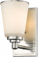 Z-Lite 432-1S-BN Jarra Brushed Nickel Wall Sconce Lighting