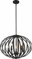 Z-Lite 438-20BRZ Moundou Modern Bronze 20  Pendant Light