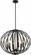 Z-Lite 438-24BRZ Moundou Contemporary Bronze 24  Lighting Pendant