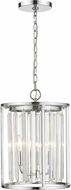 Z-Lite 439-3CH Monarch Chrome 12  Foyer Lighting Fixture