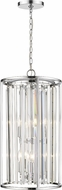 Z-Lite 439-6CH Monarch Chrome 14  Entryway Light Fixture