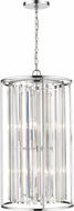 Z-Lite 439-8CH Monarch Chrome 17  Foyer Lighting