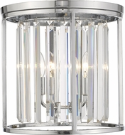 Z-Lite 439F14-CH Monarch Chrome 14  Flush Lighting