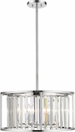 Z-Lite 439P-CH Monarch Chrome Drum Drop Lighting