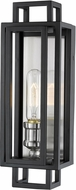 Z-Lite 454-1S-BK-BN Titania Modern Black / Brushed Nickel Sconce Lighting