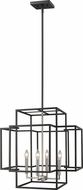 Z-Lite 454-22BK-BN Titania Modern Black + Brushed Nickel 22  Foyer Lighting