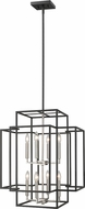 Z-Lite 454-28BK-BN Titania Modern Black + Brushed Nickel 22  Foyer Lighting Fixture