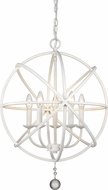 Z-Lite 458-20MW Tull Modern Matte White 20  Drop Lighting Fixture