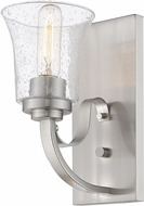 Z-Lite 461-1S-BN Halliwell Brushed Nickel Wall Lighting Sconce