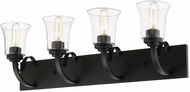 Z-Lite 461-4V-BRZ Halliwell Bronze 4-Light Bath Sconce