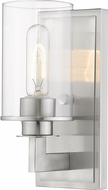Z-Lite 462-1S-BN Savannah Contemporary Brushed Nickel Wall Mounted Lamp