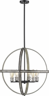 Z-Lite 472B26-ABB Kirkland Contemporary Ashen Barnboard 26  Drop Lighting Fixture