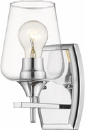 Z-Lite 473-1S-CH Joliet Chrome Wall Sconce Lighting