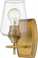 Z-Lite 473-1S-OBR Joliet Olde Brass Lighting Wall Sconce