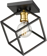Z-Lite 478F-BRZ-OBR Vertical Contemporary Bronze / Olde Brass Ceiling Lighting Fixture