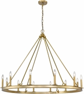Z-Lite 482R-12OBR Barclay Olde Brass Chandelier Lighting
