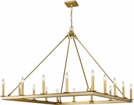 Z-Lite 482S-16OBR Barclay Olde Brass Lighting Chandelier