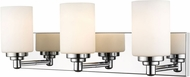 Z-Lite 485-3V-CH Soledad Chrome 3-Light Bathroom Lighting Sconce