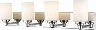 Z-Lite 485-4V-CH Soledad Chrome 4-Light Vanity Light