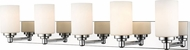 Z-Lite 485-5V-CH Soledad Chrome 5-Light Bathroom Wall Sconce