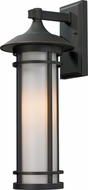 Z-Lite 530M-ORB Woodland Oil Rubbed Bronze 8.125 Wide Exterior Wall Lamp