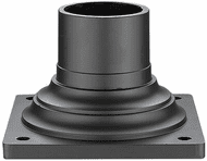 Z-Lite 533PM-ORBZ Outdoor Rubbed Bronze Outdoor Post Mount