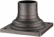Z-Lite 533PM-RBRZ Bronze Exterior Post Mount