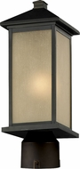 Z-Lite 548PHM-ORB-R Vienna Oil Rubbed Bronze 21.5 Tall Outdoor Post Lighting