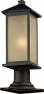 Z-Lite 548PHMR-533PM-ORB Vienna Oil Rubbed Bronze 23.25 Tall Outdoor Lamp Post Light