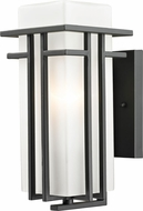 Z-Lite 550S-ORBZ Abbey Oil Rubbed Bronze Exterior Wall Mounted Lamp
