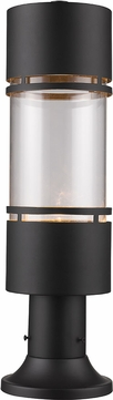 Z-Lite 553PHB-553PM-ORBZ-LED Luminata Modern Outdoor Rubbed Bronze LED Outdoor Post Mount