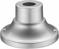 Z-Lite 553PM-SL Silver Outdoor Post Mount
