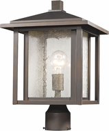 Z-Lite 554PHB-ORB Aspen Oil Rubbed Bronze Outdoor Lighting Post Light