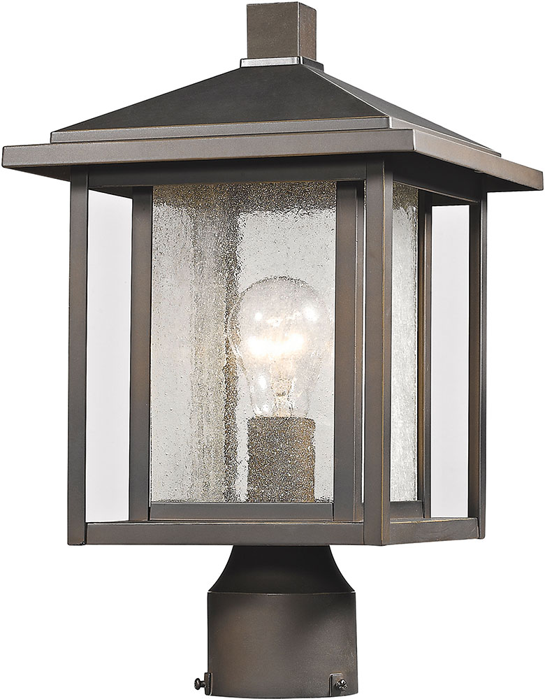 Exceptional Z Lite 554PHM ORB Aspen Oil Rubbed Bronze Outdoor Post Lighting. Loading  Zoom