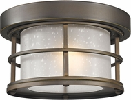 Z-Lite 556F-ORB Exterior Additions Oil Rubbed Bronze Exterior Flush Lighting