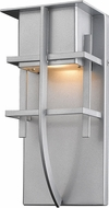 Z-Lite 558S-SL-LED Stillwater Contemporary Silver LED Exterior Wall Light Fixture