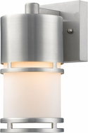 Z-Lite 560S-BA-LED Luminata Contemporary Brushed Aluminum LED Exterior Wall Lighting Fixture
