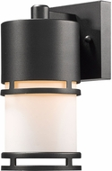 Z-Lite 560S-BK-LED Luminata Modern Black LED Outdoor Wall Light Sconce