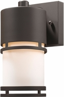 Z-Lite 560S-DBZ-LED Luminata Contemporary Deep Bronze LED Exterior Wall Sconce Light